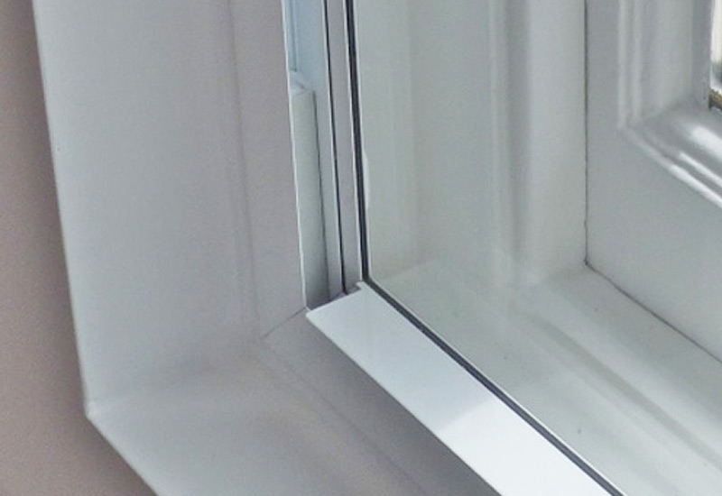 Aluminium secondary double glazing